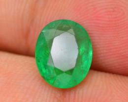 2.07 ct Zambian Emerald Vivid Green Color SKU-30