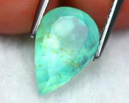 Paraiba Opal 2.70Ct Natural Peruvian Paraiba Blue Color Opal A2303
