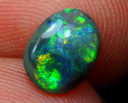 Opal 0.72Ct Colorful Lightning Ridge Opal A2318