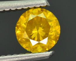 AAA Grade 0.99 ct Yellow Diamond SKU-16
