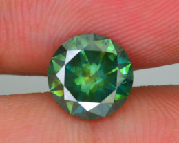 AAA Grade 1.50 ct Green Diamond SKU-16