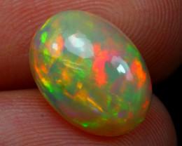 Welo Opal 2.32Ct Natural Multi Color Ethiopian Opal D2305