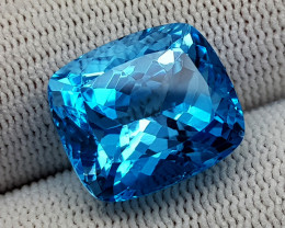 20.85 CT  BLUE TOPAZ  BEST QUALITY GEMSTONE IIGC59
