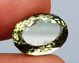 11.50Crt Prasolite  Natural Gemstones JI47