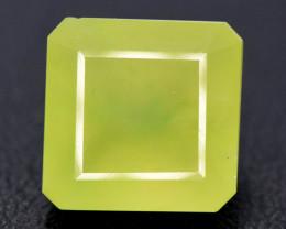 NR Auction 12.00 cts Beautiful Grasolar Idocrase Cabochon