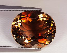 9.18 ct Top Quality Gem Stunning Oval Cut Natural Champion Topaz
