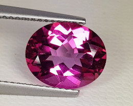 3.83 ct Breathtaking Gem Stunning Oval Cut Natural Pink Topaz