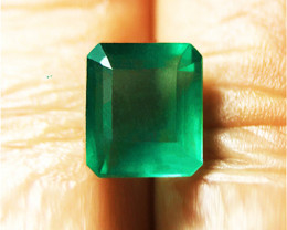 3.06 ct Top Of The Line Emerald Certified!