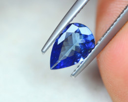 0.97Ct Violet Blue Tanzanite Pear Cut Lot B1007