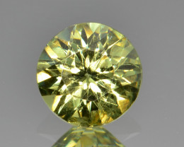 Natural Demantoid Garnet 1.00 Cts, Full Sparkle Faceted Gemstone