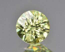 Natural Demantoid Garnet 1.00 Cts, Full Sparkle Faceted Gemstone