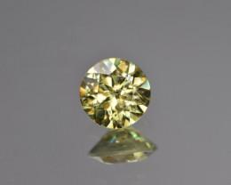 Natural Demantoid Garnet 1.16 Cts, Full Sparkle Faceted Gemstone