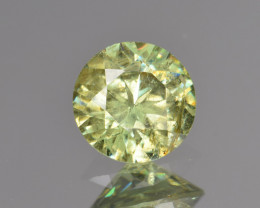 Natural Demantoid Garnet 1.17 Cts, Full Sparkle Faceted Gemstone