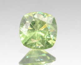Natural Demantoid Garnet 1.25 Cts, Full Sparkle Faceted Gemstone
