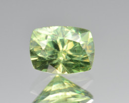 Natural Demantoid Garnet 1.26 Cts, Full Sparkle Faceted Gemstone