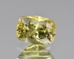 Natural Demantoid Garnet 1.30 Cts, Full Sparkle Faceted Gemstone