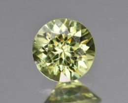 Natural Demantoid Garnet 1.32 Cts, Full Sparkle Faceted Gemstone