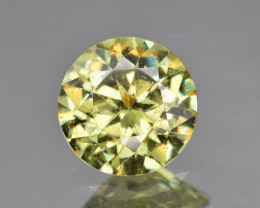 Natural Demantoid Garnet 1.68 Cts, Full Sparkle Faceted Gemstone