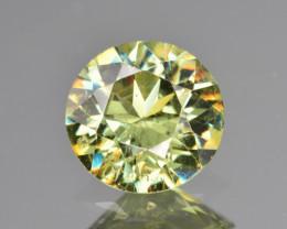Natural Demantoid Garnet 1.83 Cts, Full Sparkle Faceted Gemstone