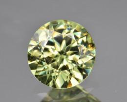 Natural Demantoid Garnet 1.95 Cts, Full Sparkle Faceted Gemstone