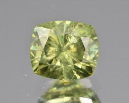 Natural Demantoid Garnet 2.12 Cts, Full Sparkle Faceted Gemstone