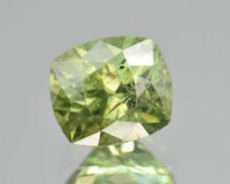 Natural Demantoid Garnet 2.80 Cts, Full Sparkle Faceted Gemstone