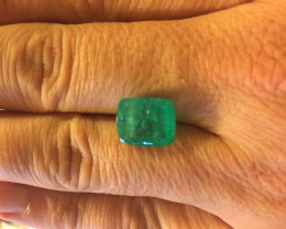 6,44ct  Colombian Natural Emerald Ref 05/32