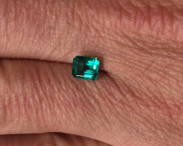 1,02ct Colombian Emerald  ref 13/21 Colombian Natural Emerald Colombian Nat