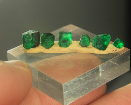 Wow Very Beautiful Rich Color Emerald Crystal Lot From Swat Pakistan