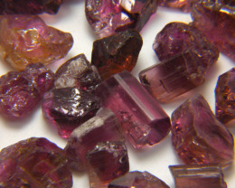 250Ct Natural Rubellite Tourmaline Facet Rough Parcel