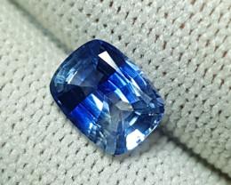 NO HEAT 1.83 CTS CERTIFIED NATURAL BEAUTIFUL BLUE SAPPHIRE SRI LANKA
