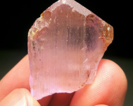 Lovely Natural Pink Color gemmy Kunzite crystal 45 Cts-Afghanistan