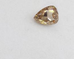 0.315ct  Fancy Brown  Diamond , 100% Natural Untrea