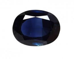 3.37cts Natural Australian Blue Sapphire Oval Cut