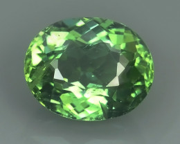 2.90 CTS INVESTMENT GEM - VIP APATITE - NICE GREEN EXCLUSIVE BRAZIL