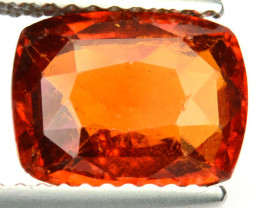 2.12 Cts Natural Cinnamon Orange Hessonite Garnet Cushion Sri Lanka