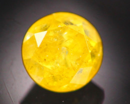 Diamond 0.46Ct Natural Fancy Yellow Color Round Diamond 19CF11