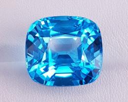 29.20 Cts Blue Topaz.