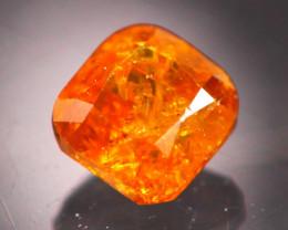 Diamond 0.31Ct Natural Fancy Orange Color Diamond 19CF44