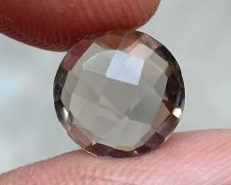 Smoky Quartz Checkered Natural+Untreated Gemstone VA2921