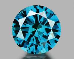 SPARKLING RARE FANCY BLUE COLOR NATURAL DIAMOND