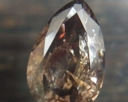 2.18ct Fancy Deep grayish Pinkish Brown  Diamond , 100% Natural Untreated