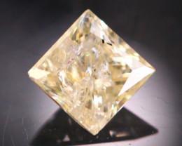 Diamond 0.22Ct Natural Princess Cut Fancy Color Diamond 19CF65