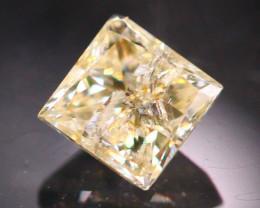 Diamond 0.22Ct Natural Princess Cut Fancy Color Diamond 19CF66