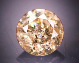 Diamond 0.29Ct Natural Brilliant Round Cut Fancy Color Diamond 19CF100