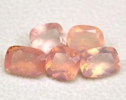 Rose Quartz 6.66Ct Natural Sakura Pink Rose Quartz B2403