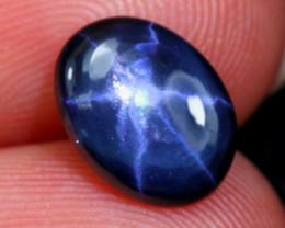 Star Sapphire 2.28Ct Natural 6 Rays Blue Star Sapphire B2415
