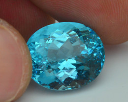 Rare 11.35 ct Amazing Luster Paraiba Like Blue Apatite SKU.7