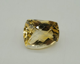 8.04 Cts Citrine Fancy Cut Loose Natural UnTreated F20