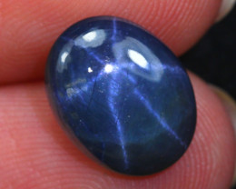 Star Sapphire 3.74Ct Natural 6 Rays Blue Star Sapphire E2415